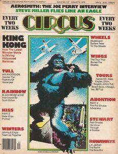 Circus Magazine 1976 King Kong and Rainbow