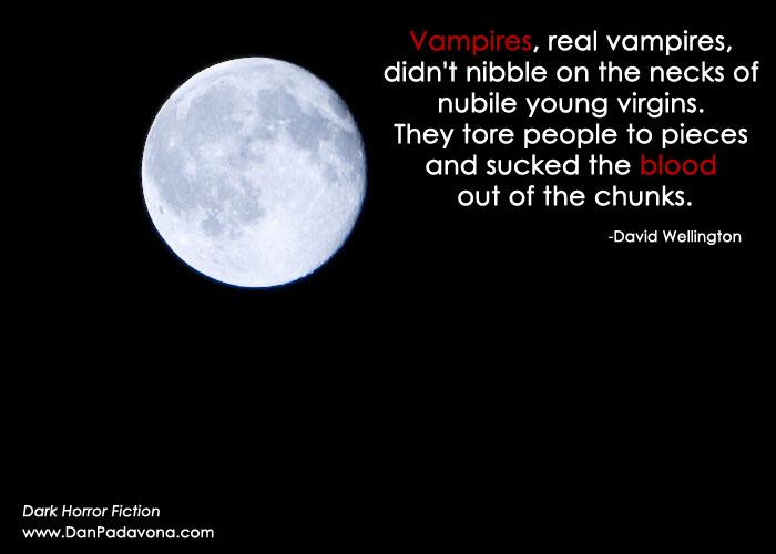 Vampire Horror Quotes