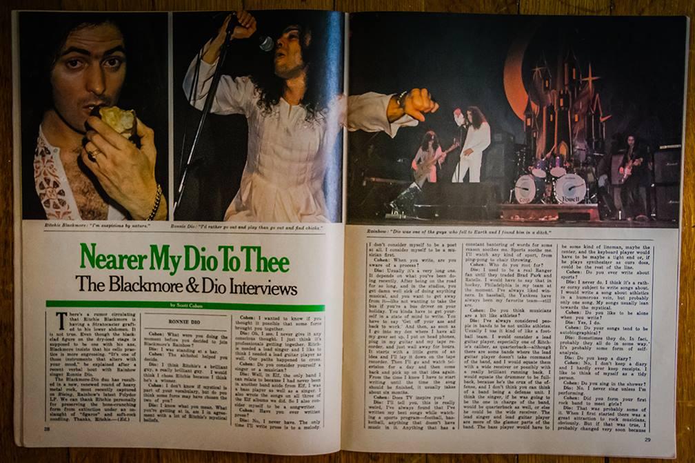 Rainbow Rising Circus Magazine 1976