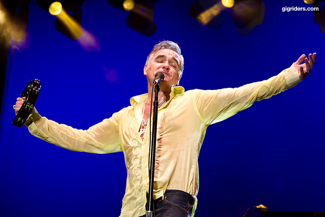 Morrissey's brilliant lyrical content is evident from his days with The Smiths through his extraordinary solo career. Photo: Facundo Gaisler