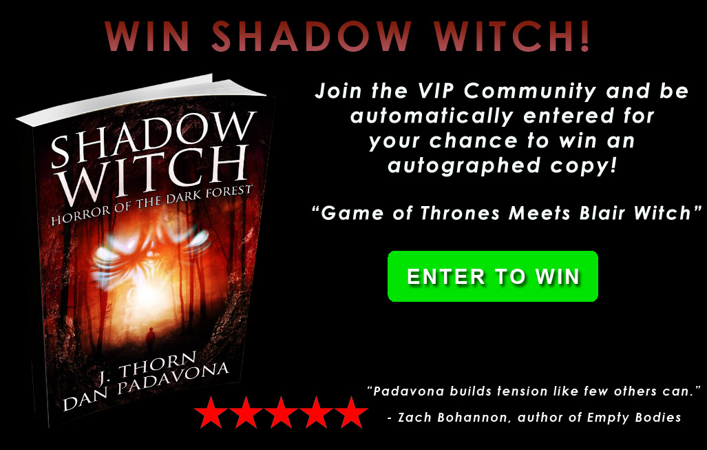 Win Shadow Witch novel