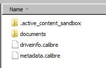 Kindle Documents Folder