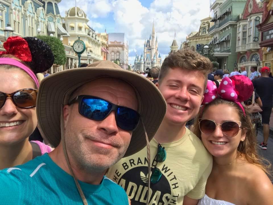 Dan Padavona at Disney World